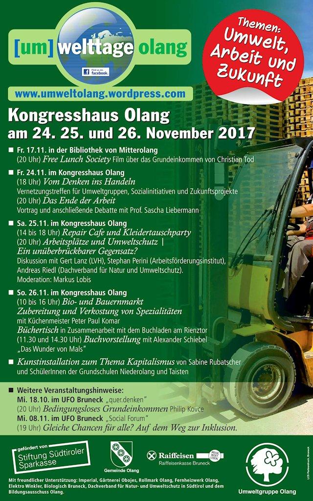 Umweltgruppe Olang - 2017 Umwelttage Plakat_1